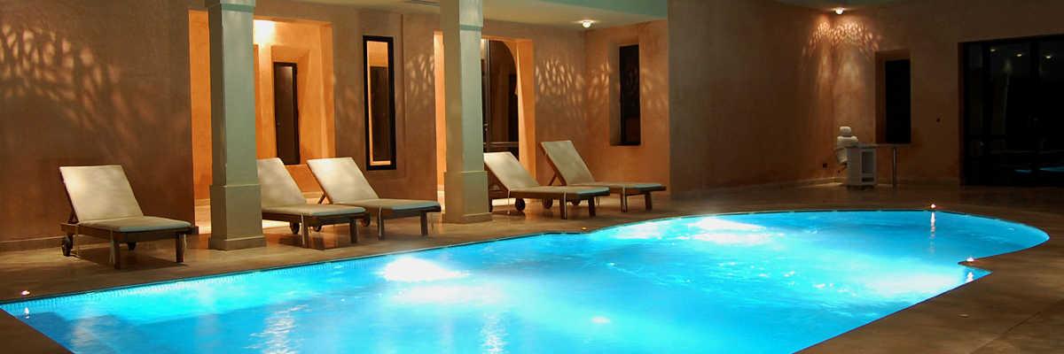 H tels avec piscine int rieure for Hotel avec piscine interieur
